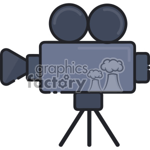 Video camera vector clip art images clipart. Commercial use image # 403896