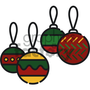 christmas decoration vector icon clipart. Royalty-free image # 403979