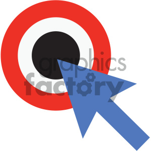 SEO target keywords marketing vector icon clipart. Royalty-free image # 404059