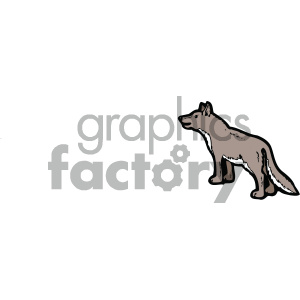 cartoon clipart dog 003 c clipart. Royalty-free image # 404744