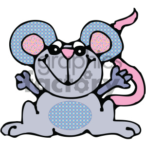 cartoon mouse 010 c clipart. Commercial use image # 404914