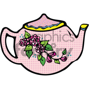 cartoon teapot clipart. Royalty-free image # 405152