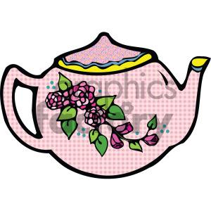 cartoon tea teapot