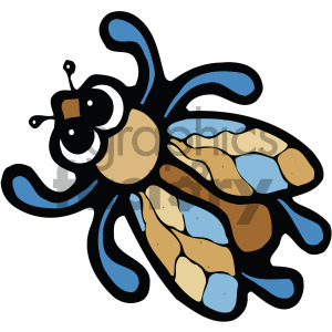 cartoon bug clipart clipart. Royalty-free image # 405257
