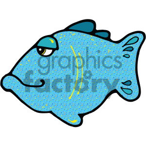 cartoon vector fish 009 c clipart. Royalty-free image # 405274