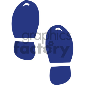 foot tracks clipart. Royalty-free image # 405292