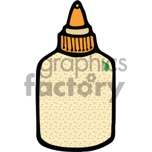 glue bottle image clipart. Commercial use image # 405432