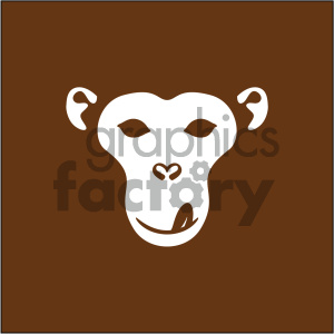 monkey face vector icon clipart. Commercial use icon # 405510