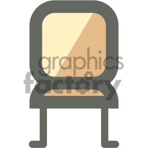 kitchen chair furniture icon clipart. Royalty-free image # 405638