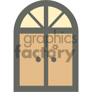 home door furniture icon clipart. Royalty-free image # 405651