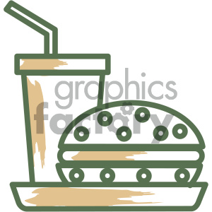 fast food vector flat icon design clipart. Commercial use image # 405727