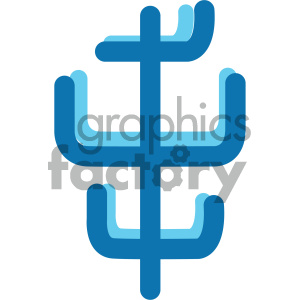 trident weapon ocean icon clipart. Royalty-free image # 405920