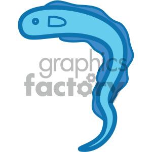 eel ocean icon clipart. Royalty-free image # 405929