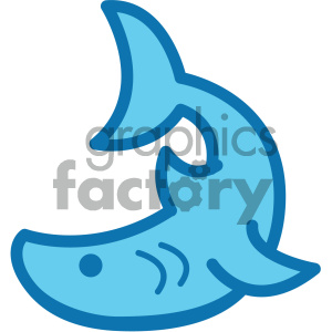ocean sea+life icon shark