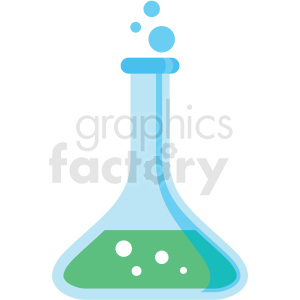 chemistry beaker icon clipart. Commercial use image # 406085