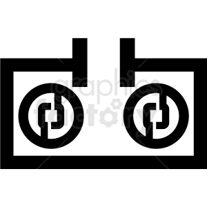 cryptocurrency mining tech icon clipart. Royalty-free image # 406140