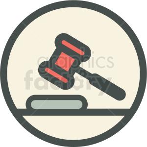 law gavel judge court
