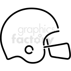 football helmet neon icon clipart. Royalty-free image # 406366