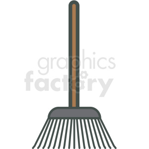 rake vector icon clipart. Royalty-free icon # 406428
