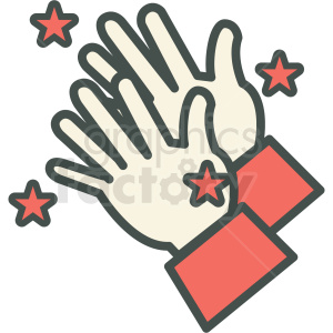 magic hands vector icon clipart. Commercial use image # 406464