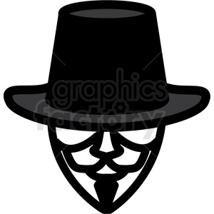 anonymous vector icon image clipart. Royalty-free image # 406502