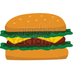 cheese burger icon clipart with no background clipart. Royalty-free image # 406747