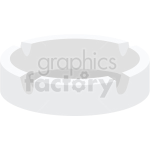 ashtray vector flat icon clipart with no background clipart. Commercial use icon # 406771