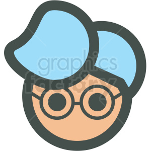 icons people face head man guy male glasses avatar