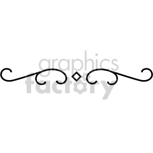 scroll applique design