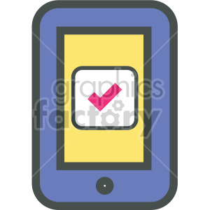 smart device vector flat icons clipart. Royalty-free image # 407091