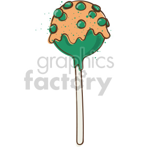 st patricks day sucker clipart. Royalty-free image # 407648
