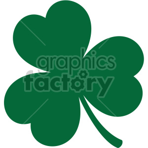 shamrock svg cut file clipart. Royalty-free image # 407756