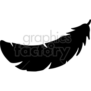 feather vector art clipart. Royalty-free icon # 407764