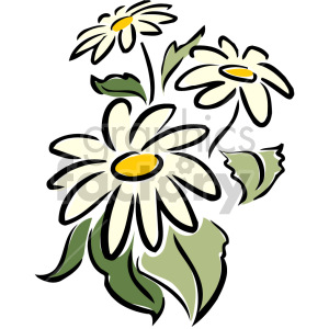 daisy animation. Royalty-free animation # 151167