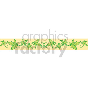 leaf header clipart. Commercial use image # 167002