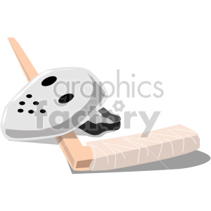 hockey goalie mask clipart. Royalty-free image # 169285
