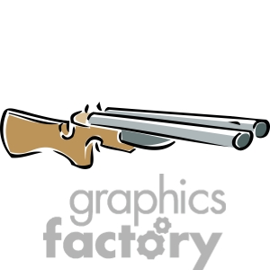 shotgun clipart. Commercial use image # 173742