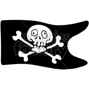 pirate flag clipart. Royalty-free image # 407807