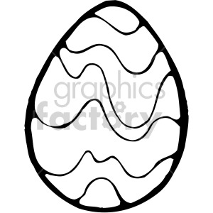 Easter Egg 05 clipart. Royalty-free image # 407864