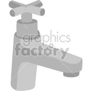 faucet no background clipart. Commercial use image # 408014
