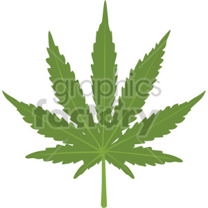 marijuana leaf clipart. Commercial use image # 408032