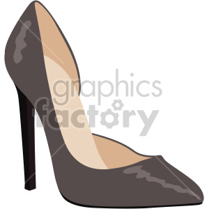cutaway arc heel shoes clipart. Royalty-free image # 408126