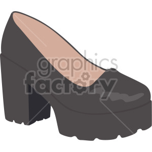 chunky shoes clipart. Royalty-free image # 408138