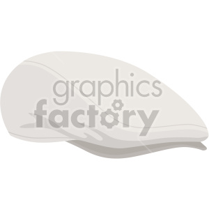 flat cap hat no background clipart. Royalty-free image # 408181