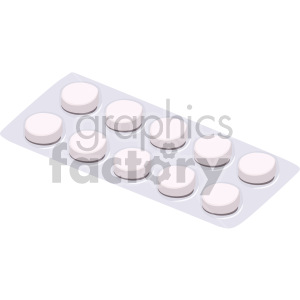 pill container clipart. Royalty-free image # 408223