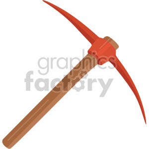 pickaxe clipart. Commercial use image # 408280