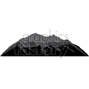 mountains at dusk clipart. Royalty-free image # 408310