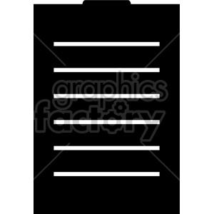 battery design with charge bars clipart. Commercial use image # 408478