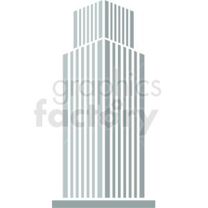skyscraper vector icon clipart. Royalty-free image # 408605