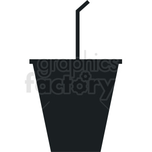 soda cup with straw no background clipart. Royalty-free image # 408668